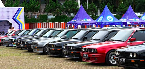 BMWCCI Chapter & Registers di Indonesia