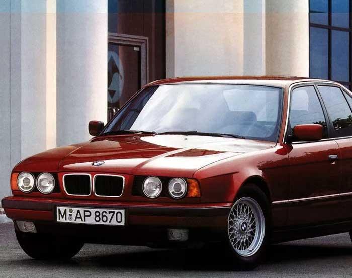 BMW E34 Indonesia