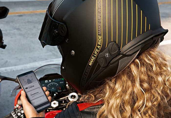 Sistem Komunikasi Terbaru BMW Motorrad