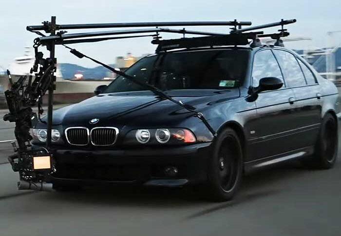 BMW E39 M5 Camera Car