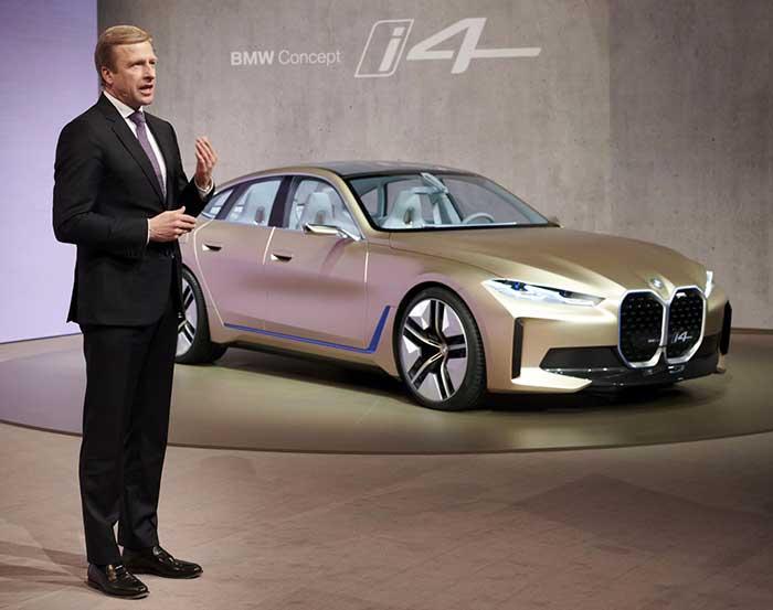 Mobil Elektrik BMW